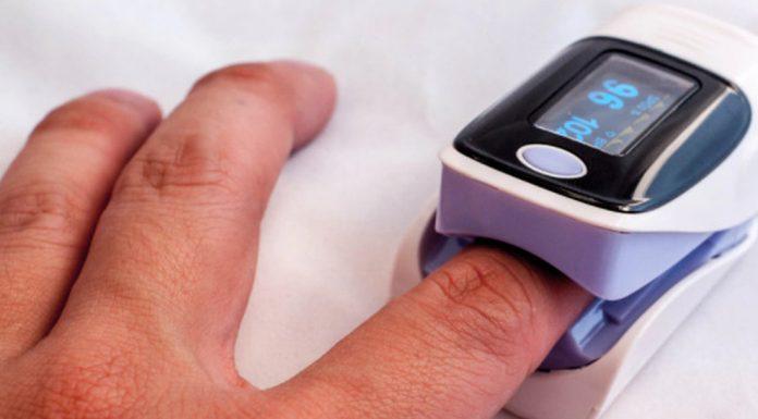 saturimetro e pulsossimetro